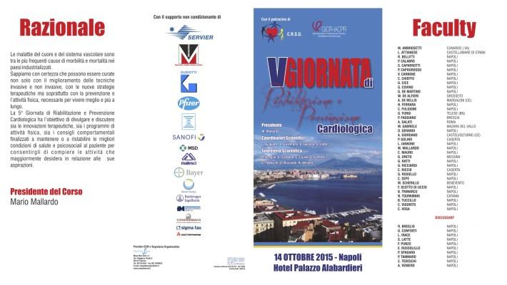 5^ Giornata di Riabilitazione e Prevenzione Cardiologica – Napoli